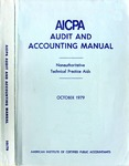 AICPA audit and accounting manual : nonauthoritative technical practice aids, October 1979