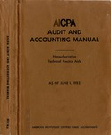 AICPA audit and accounting manual : nonauthoritative technical practice aids, as of June 1, 1983