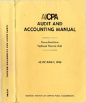 AICPA audit and accounting manual : nonauthoritative technical practice aids, as of June 1, 1986
