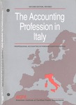 Accounting Profession in Italy, Second Edition Revised; Professional Accounting in Foreign Country Series