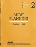 Audit planning, Revised 1989; Technical information for practitioners series, 2