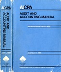 AICPA audit and accounting manual : nonauthoritative technical practice aids, as of June 1, 1987