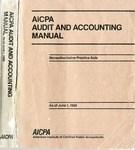 AICPA audit and accounting manual : nonauthoritative technical practice aids, as of June 1, 1988