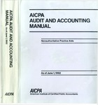 AICPA audit and accounting manual : nonauthoritative technical practice aids, as of June 1, 1992