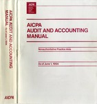 AICPA audit and accounting manual : nonauthoritative technical practice aids, as of June 1, 1994