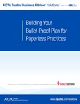 Building your bullet-proof plan for paperless practices