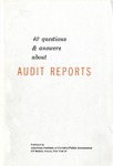 40 questions and answers about audit reports