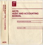 AICPA audit and accounting manual : nonauthoritative technical practice aids, as of June 1, 1995