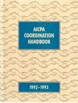 AICPA Coordination Handbook, 1992-1993