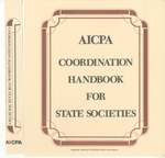 AICPA coordination handbook for state societies