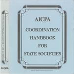 AICPA coordination handbook for state societies