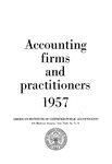 Accounting Firms and Practitioners 1957
