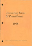 Accounting Firms & Practitioners 1968
