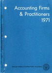 Accounting Firms & Practitioners 1971