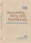 Accounting Firms and Practitioners 1981