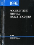 Accounting Firms & Practitioners 1985