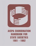 AICPA coordination handbook for state societies, 1991-1992
