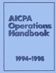 AICPA Operations Handbook, 1994-1995