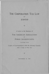 Corporation Tax Law of 1909