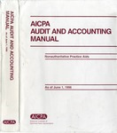 AICPA audit and accounting manual : nonauthoritative technical practice aids, as of June 1, 1996