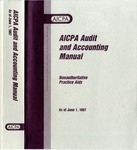 AICPA audit and accounting manual : nonauthoritative technical practice aids, as of June 1, 1997