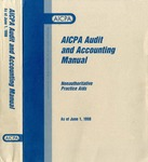 AICPA audit and accounting manual : nonauthoritative technical practice aids, as of June 1, 1998