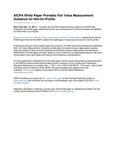 Press release: AICPA White Paper Provides Fair Value Measurement Guidance for Not-for-Profits by American Institute of Certified Public Accountants. Not-for-Profit Entities Fair Value Task Force