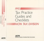 Tax practice Guides and Checklists 1992