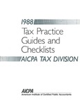 Tax practice Guides and Checklists 1988