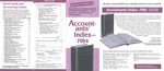 Accountants' Index - 1984 [brochure]