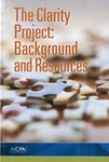Clarity project : background and resources by American Institute of Certified Public Accountants (AICPA)