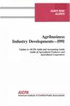 Agribusiness industry developments - 1991
