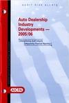 Auto dealership industry developments - 2005/06
