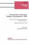 Construction contractors industry developments - 1990