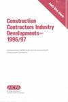 Construction contractors industry developments - 1996/97; Audit risk alerts