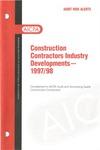 Construction contractors industry developments - 1997/98