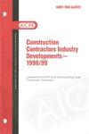 Construction contractors industry developments - 1998/99