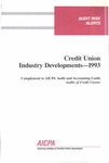 Credit union industry developments - 1993