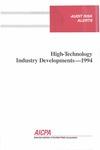 High-technology industry developments - 1994; Audit risk alerts