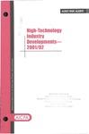 High-technology industry developments - 2001/02; Audit risk alerts