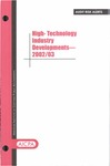 High-technology industry developments - 2002/03