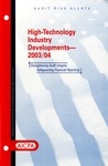 High-technology industry developments - 2003/04; Audit risk alerts