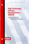 High-technology industry developments - 2004/05