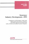 Insurance industry developments - 1993