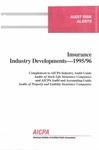 Insurance industry developments - 1995/96