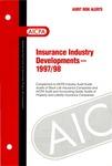 Insurance industry developments - 1997/98