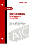Insurance industry developments - 1999/2000