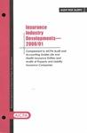 Insurance industry developments - 2000/01; Audit risk alerts