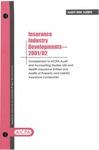 Insurance industry developments - 2001/02