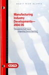Manufacturing industry developments - 2004/05